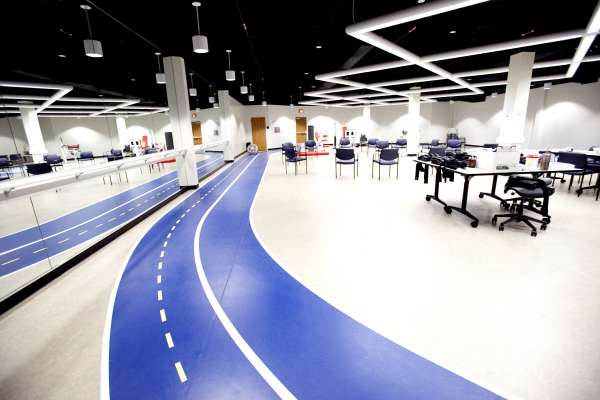 health center space at UF