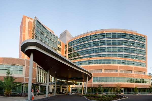 UF Cancer Hospital building